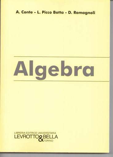 Picture of ALGEBRA
