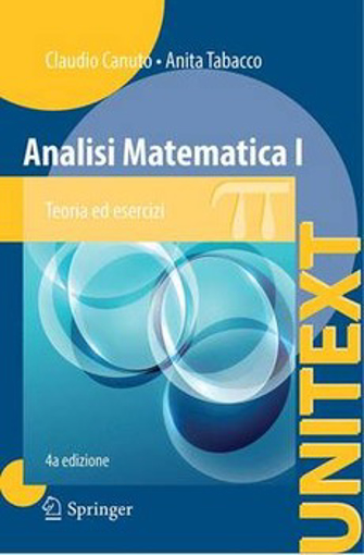 Picture of ANALISI MATEMATICA I  4 ED.